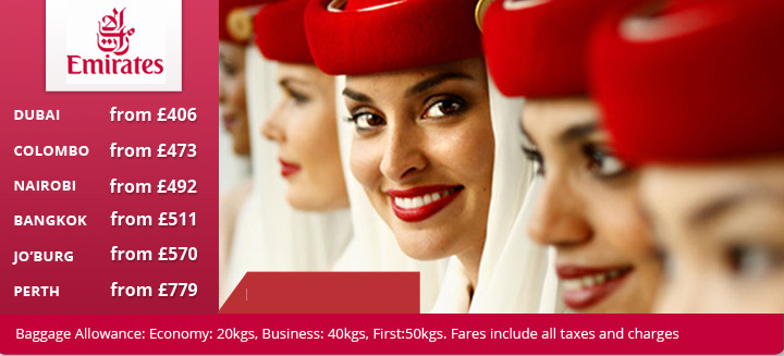 Emirates Airlines Fare